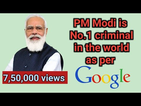 world no 1 criminal is nararendra modi accordind to GOOGLE- Arvind kejrival  also in that list