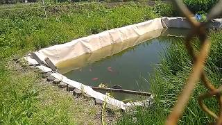 как сделать озеро для рыбалки