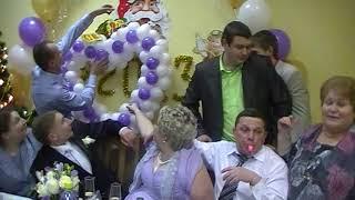 Свадьба сына Николая. Поздравление от молодёжи. И не только.