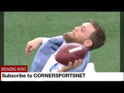 Jeff Kent - WATCH:  Conor Mcgregor throws like a girl