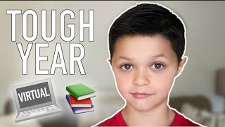 TOUGH SCHOOL YEAR FOR 3RD GRADER   VIRTUAL SCHOOL DUE TO THE COVID-19 PANDEMIC