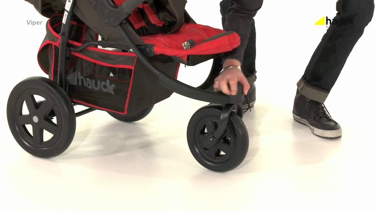 Hauck Shopper Slx Travel System Youtube Hauck Viper 3 Wheeler Pushchair Video Review Online4baby Youtube