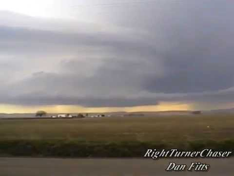 Scotts Bluff county Nebraska supercell 5-9-99
