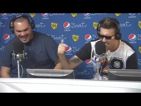 Ensi Fred de Palma - freestyle radio 105 Official Video