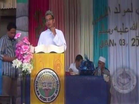[Tausug Da'wah] Sheikh Mukhtar Waning - Pagmawlud ha Ma'had Assalam Malusu 2016