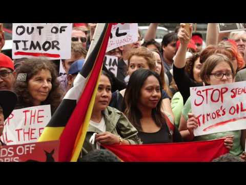 Timor Sea Justice Campaign's Tom Clarke: Time to draw the line