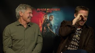 """Blade Runner 2049"" Harrison Ford And Ryan Gosling Funny Interview"