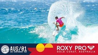 Conlogue vs. Fitzgibbons vs. Andrew - Roxy Pro Gold Coast 2017 Round Three, Heat 3