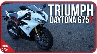 2017 Triumph Daytona 675R | First Ride
