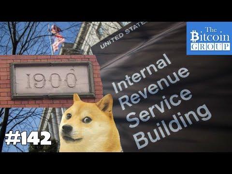 The Bitcoin Group #142 - Bitcoin $1900 - Alza - Congress vs. IRS - Dogecoin Tipbot