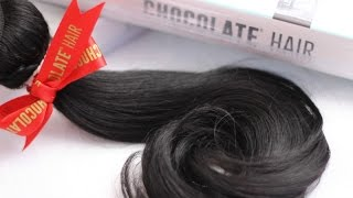 Virgin Malaysian|Chocolate Hair Unboxing