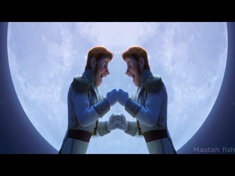 Frozen love is an open door Hans and Hans improved version