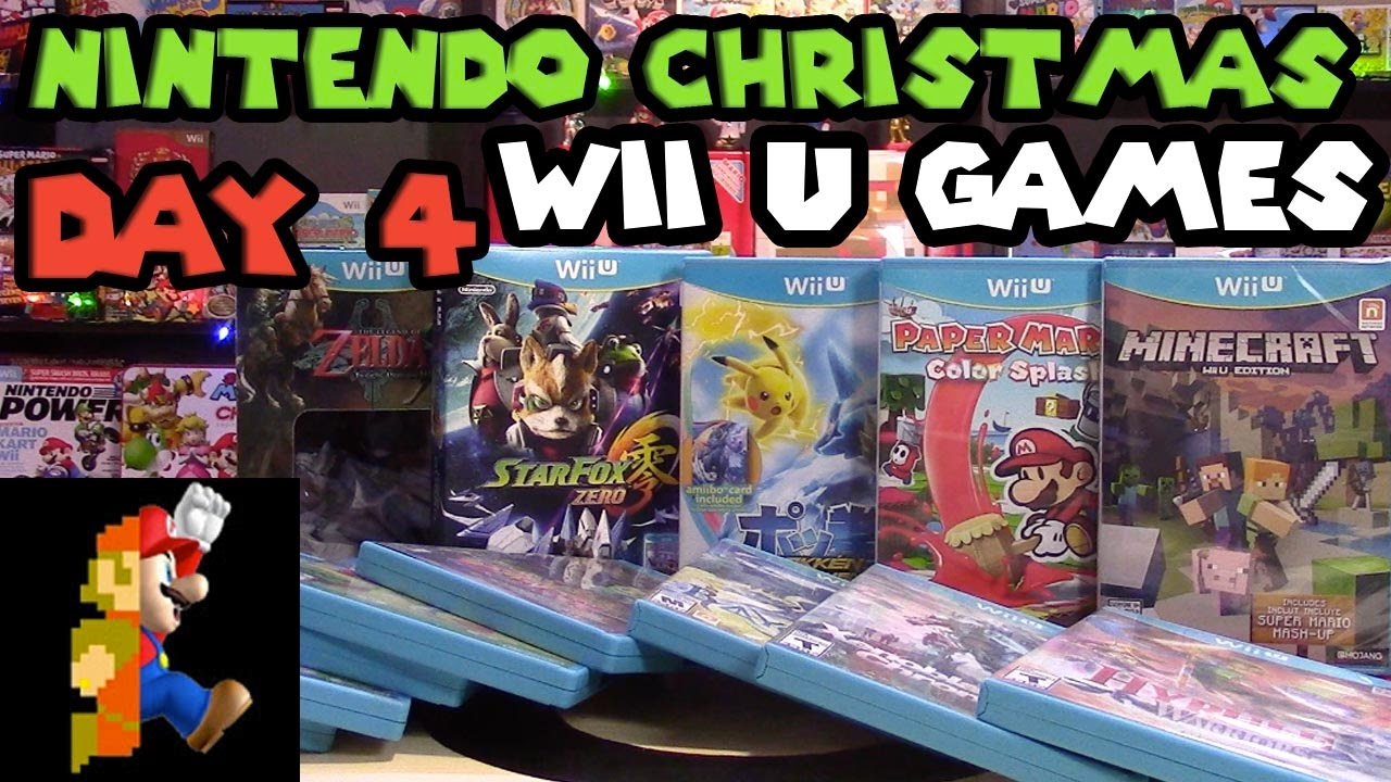 Nintendo Christmas: Day 4 - Wii U Games in 2016! + Insane Giveaway ...