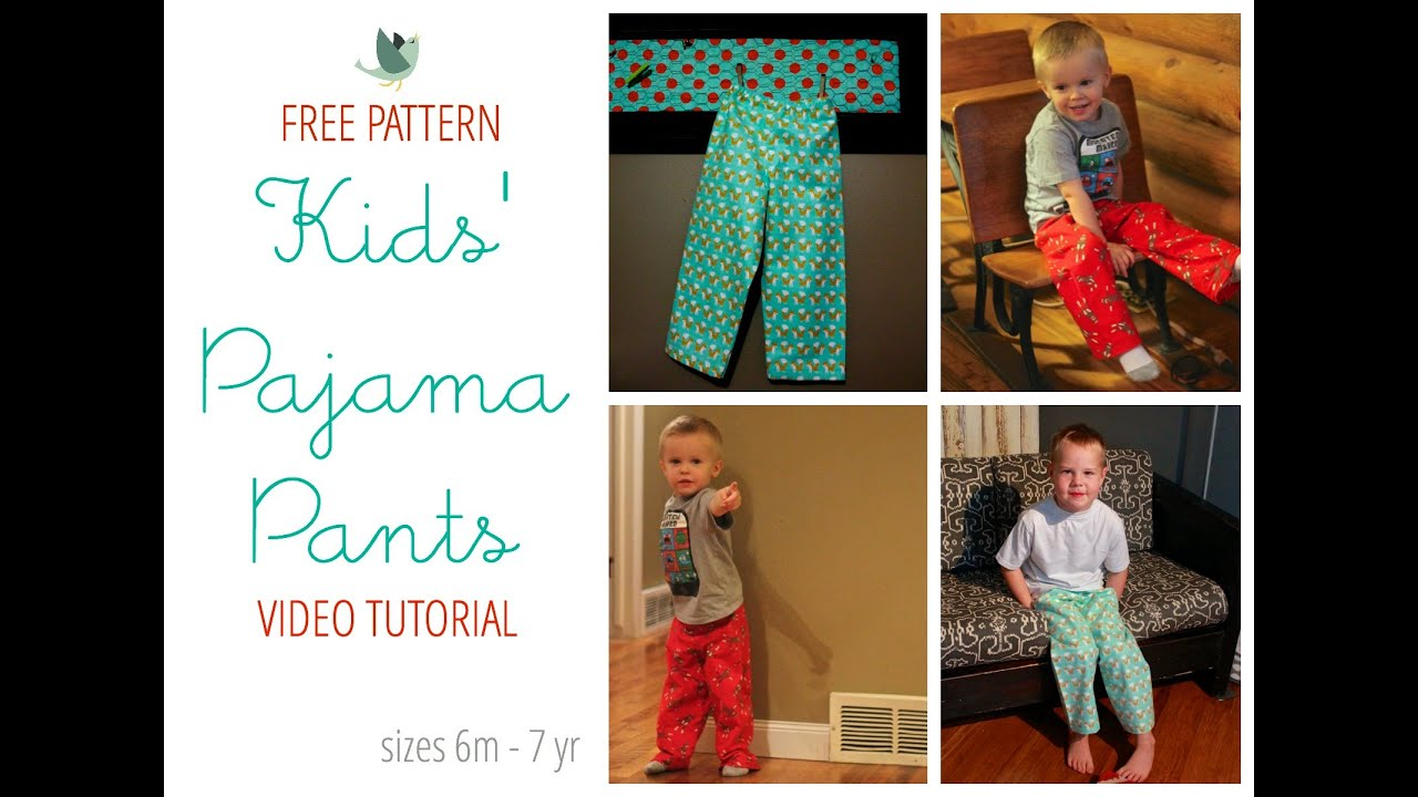 winter pjs pdf sewing ladies pattern