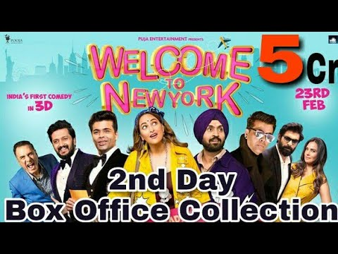 Welcome To NewYork 2nd Day Worldwide Box Office Collection | Sonakshi Sinha | Diljit Dosanjh