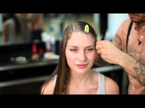 How to Make Curly Hair Straight Without Straightening & Blow Drying : Braids & Hair Styling Tips