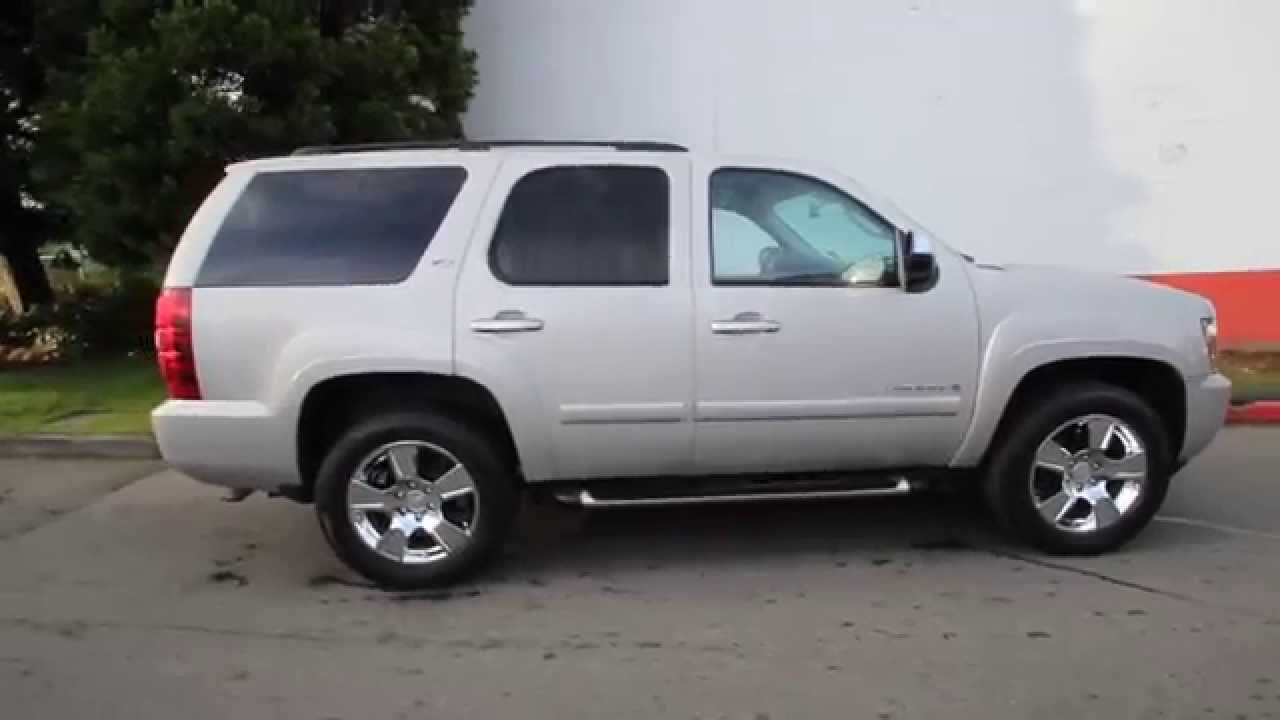 2007 Chevrolet Tahoe Ltz Silver Birch Metallic
