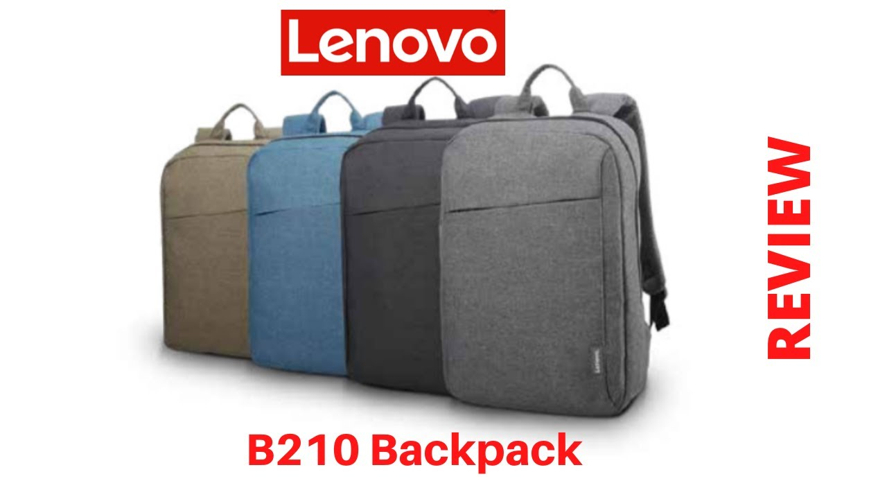 Review Lenovo B210 15 6 Laptop Casual Backpack Youtube