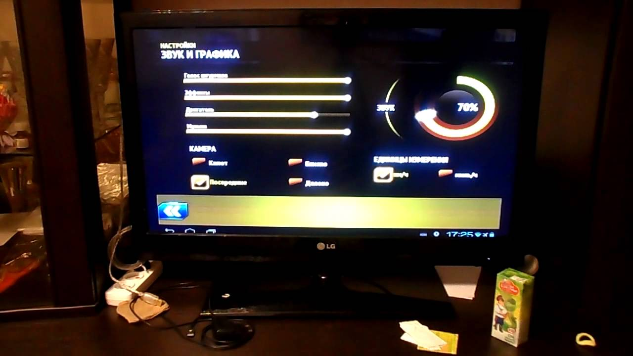 Как с планшета сделать телевизор