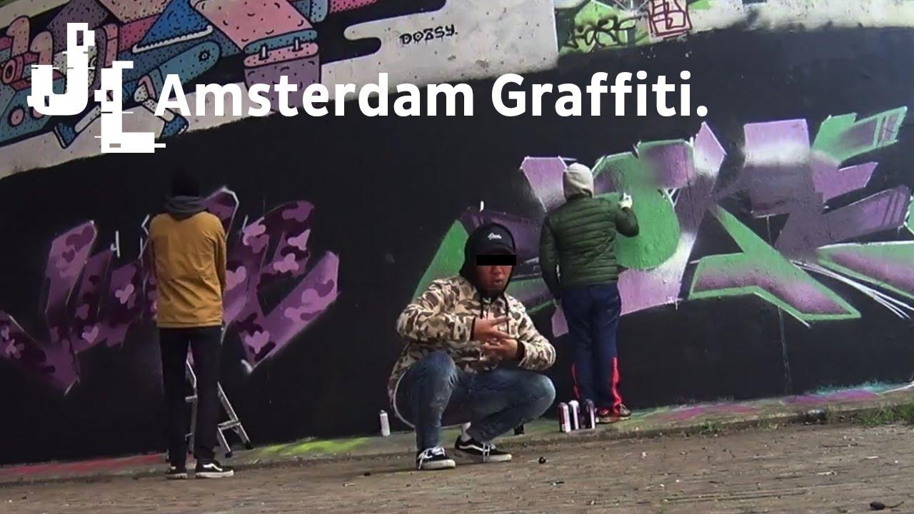 Graffiti wall amsterdam - Graffiti Wall Amsterdam 3