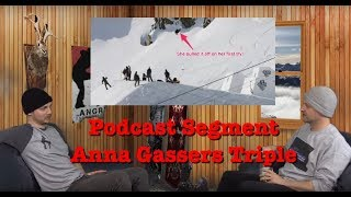 The Angry Snowboarder Podcast Segment: Anna Gasser's Triple