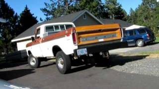 76 ford f-250 428 dual exaust