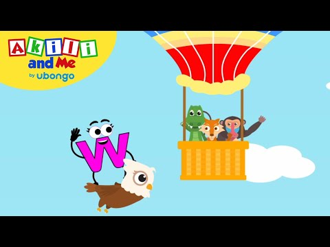 learn-letter-w!-|-the-alphabet-with-akili-|-cartoons-for-preschoolers