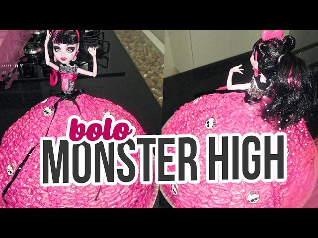 Brincando de Ana Maria: Bolo da Monster High Travel Video
