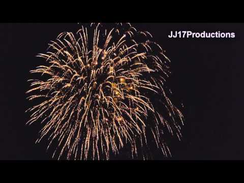 Redlands CA 2013 4rth Of July Fireworks Show. Ted Runner Stadium University of Redlands