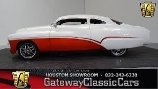 1951 Buick Custom  Lead Sled  Gateway Classic Cars #849 Houston Showroom