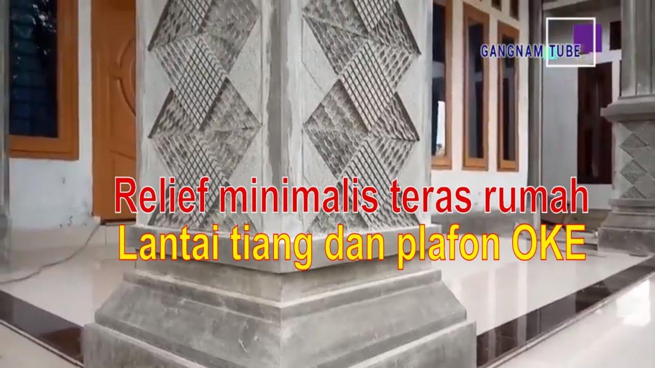Model Tiang Minimalis Gerbang Teras Rumah Mewah Youtube