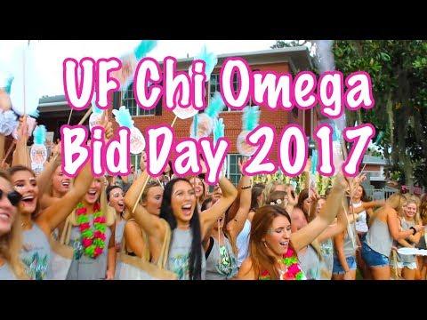 University of Florida Chi Omega Bid Day 2017