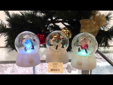 82083 Light Up Blowing Snow Water Ball Musical