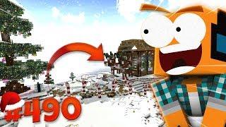 """Minecraft #490 - """"Pokaz świątecznej krainy!"""""""