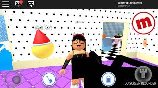 Adopting a baby in roblox that can talk
