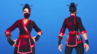 Fortnite *NEW* Red Jade Skin Showcase 🌺🔥  Fortnite Leaks 10.40