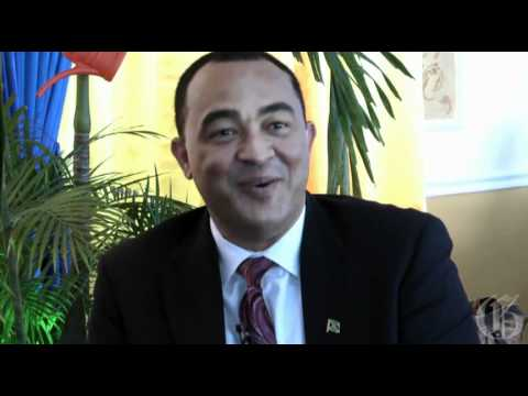 The Gleaner's Managing Director, Hon Oliver Clarke - One-On-One with Christopher Tufton