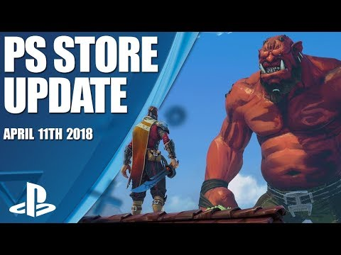 PlayStation Store Highlights - 11th April 2018