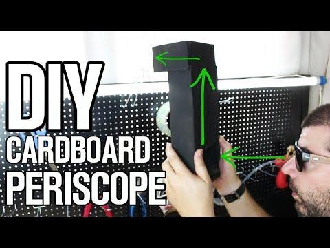 Amazing Cardboard Periscope - DIY Life Hack