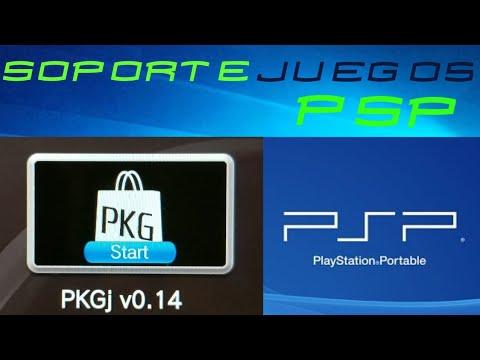 TUTORIAL: PKGJ v0 14 soporte para los juegos PSP !!!!