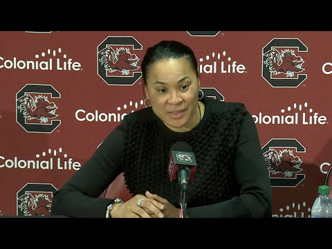 POSTGAME: Dawn Staley on Maryland — 11/18/18