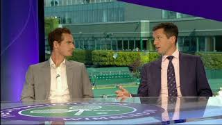 Andy Murray v Tim Henman who's the most BORING Wimbledon 2018