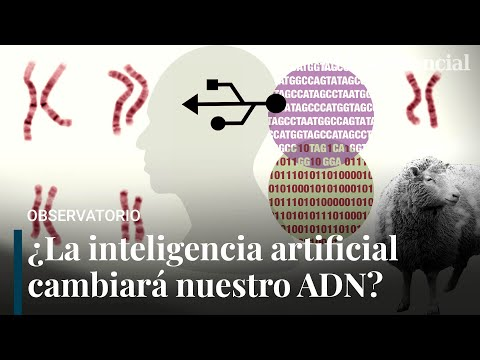 ¿La Inteligencia Artificial cambiará nuestro ADN?