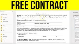 How To Fill Out A Real Estate Purchase And Sale Agreement (Contract) | Step By Step Tutorial