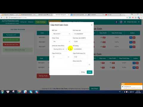 Tool hỗ trợ Auto Trade Coin sàn Binance