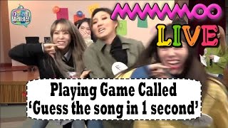 [My Little Television] 마이 리틀 텔레비전 -MAMAMOO is immersed in the game 20170225