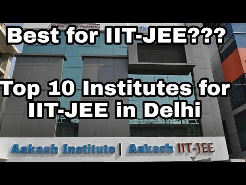 Top 10 IIT-JEE coaching institutes in Delhi|| The Best||
