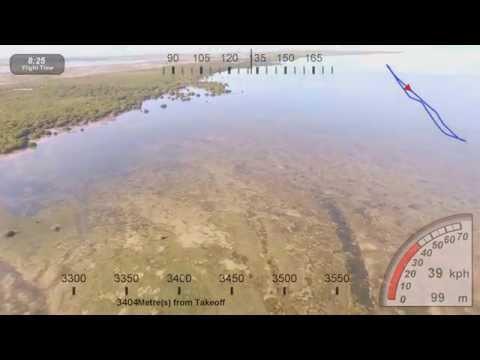 Anaheim Shores Lake Phantom 3 pro 4k video with dashware