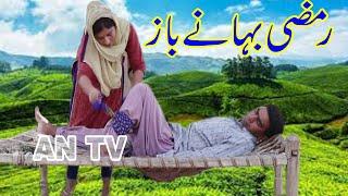 Ramzi Bahne Baz , Sanam Mahi , Aasu Pyara , Moula Bux , New Funny Video By AN TV 2020
