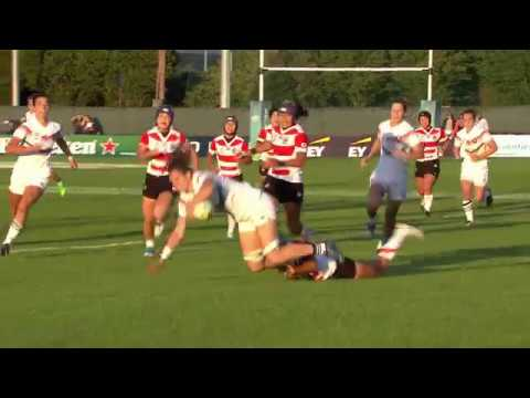 Top 5 cracking tries from day one of the Women's Rugby World Cup